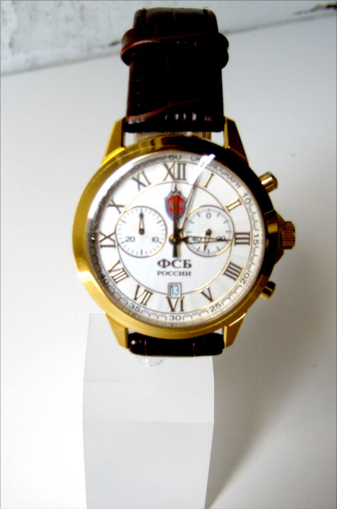 Мужские часы с кварцевым механизмом хронограф